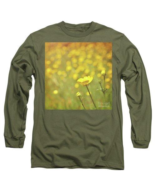 Buttercups Long Sleeve T-Shirt by Lyn Randle