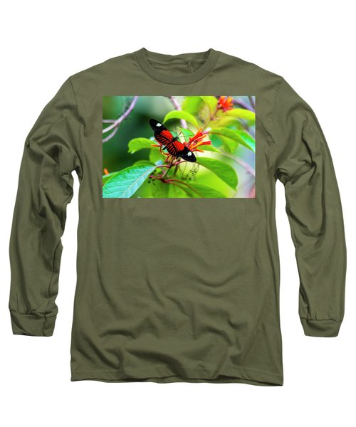Long Sleeve T-Shirt featuring the photograph Butterfly  by David Morefield