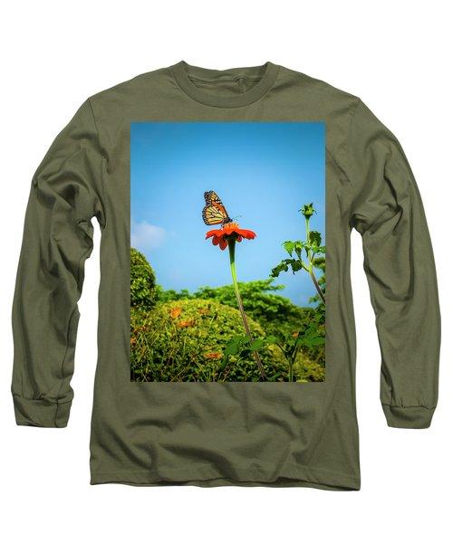 Butterfly Perch Long Sleeve T-Shirt