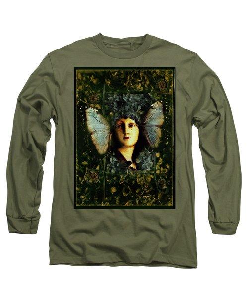 Butterfly Woman Long Sleeve T-Shirt