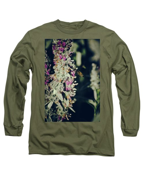 Buzzing In My Lamb's Ear Long Sleeve T-Shirt