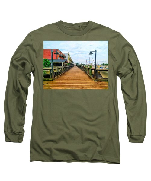 By George Long Sleeve T-Shirt