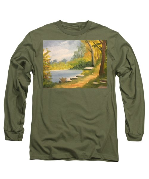 By The Lake Long Sleeve T-Shirt