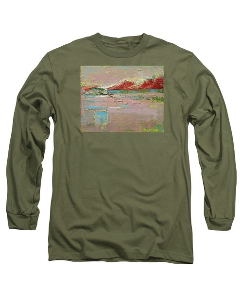 By The River Long Sleeve T-Shirt by Becky Kim
