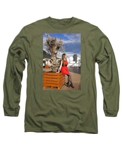 By The Tree Of Temptation Long Sleeve T-Shirt