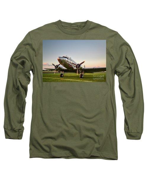 C-47 At Dusk Long Sleeve T-Shirt