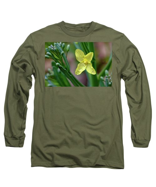 Cabbage Blossom Long Sleeve T-Shirt