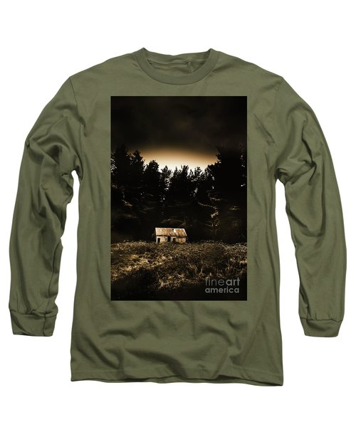 Cabin In The Woodlands  Long Sleeve T-Shirt