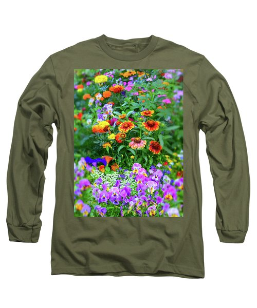 Summer Symphony Of Color Long Sleeve T-Shirt