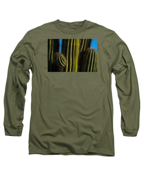 Cacti  Long Sleeve T-Shirt by Derek Dean