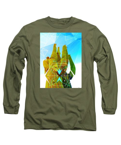 Cacti Embrace Long Sleeve T-Shirt