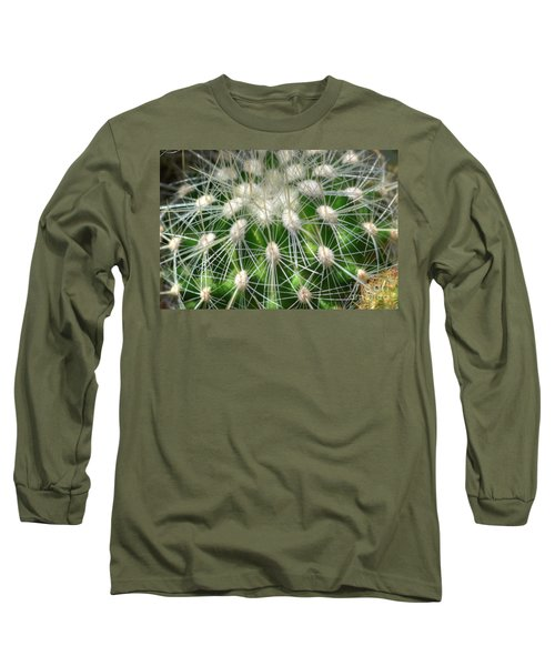 Long Sleeve T-Shirt featuring the photograph Cactus 1 by Jim and Emily Bush