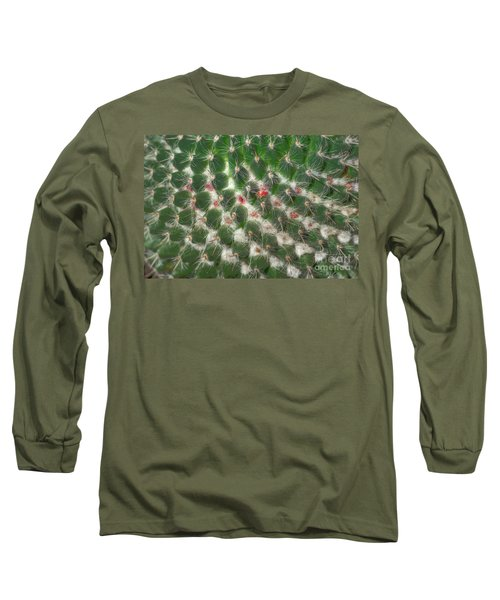 Long Sleeve T-Shirt featuring the photograph Cactus 5 by Jim and Emily Bush