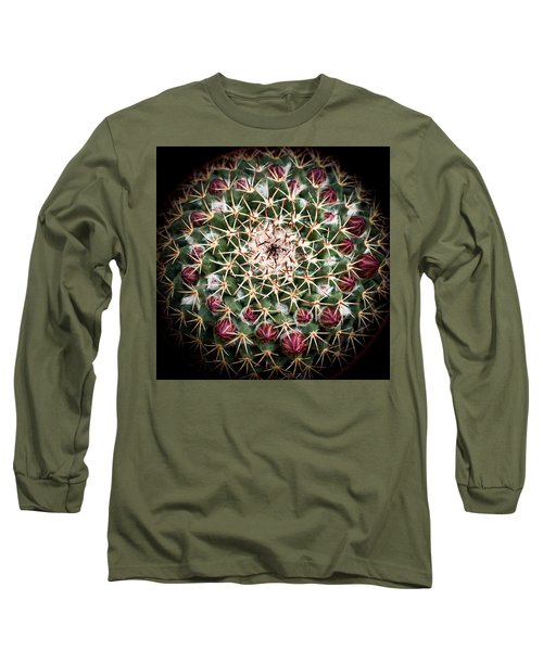 Cactus  Flower Long Sleeve T-Shirt