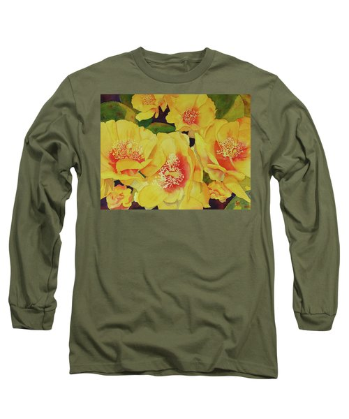 Cactus Flowers Long Sleeve T-Shirt