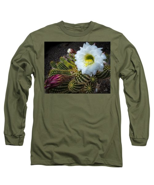 Cactus Flowers Long Sleeve T-Shirt
