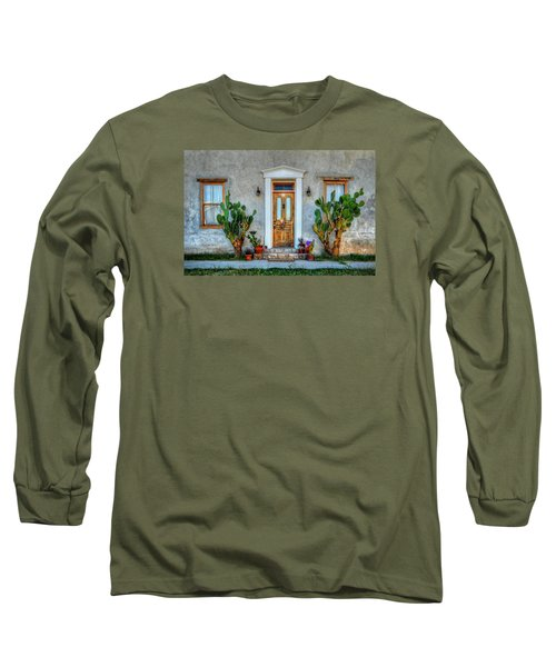 Long Sleeve T-Shirt featuring the photograph Cactus Guards by Ken Smith