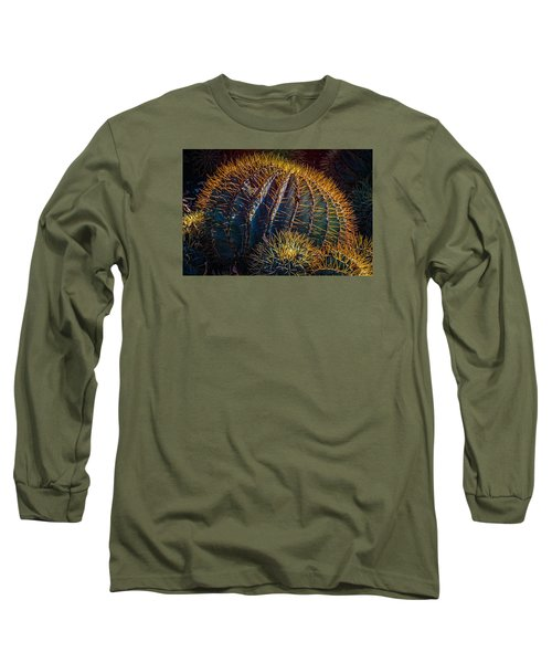 Long Sleeve T-Shirt featuring the photograph Cactus by Harry Spitz