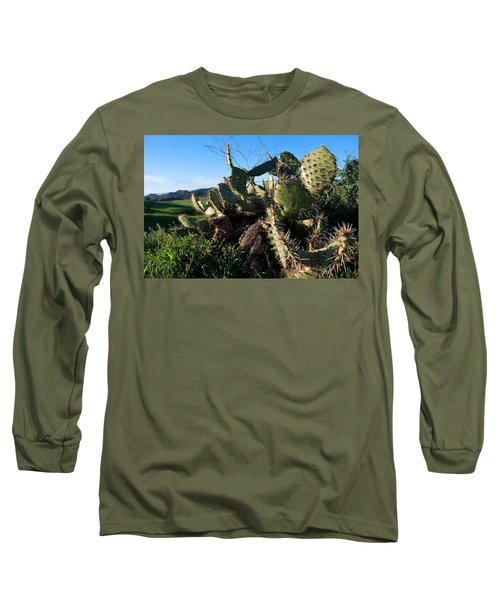 Cactus In The Mountains Long Sleeve T-Shirt