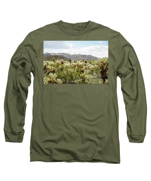 Cactus Paradise Long Sleeve T-Shirt by Amyn Nasser