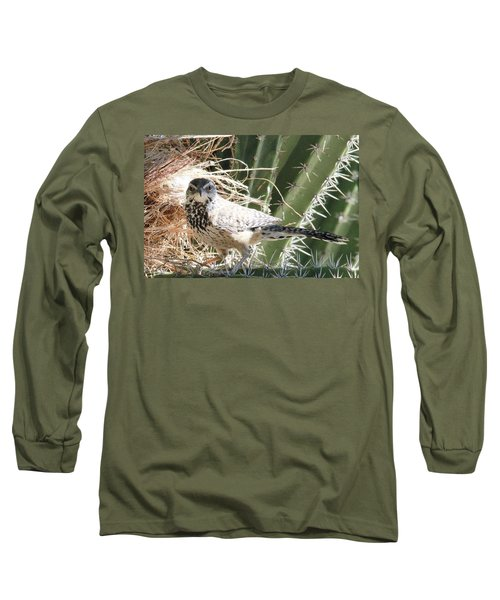Cactus Wren 3 Long Sleeve T-Shirt