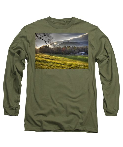Cades Cove, Spring 2016,ii Long Sleeve T-Shirt by Douglas Stucky
