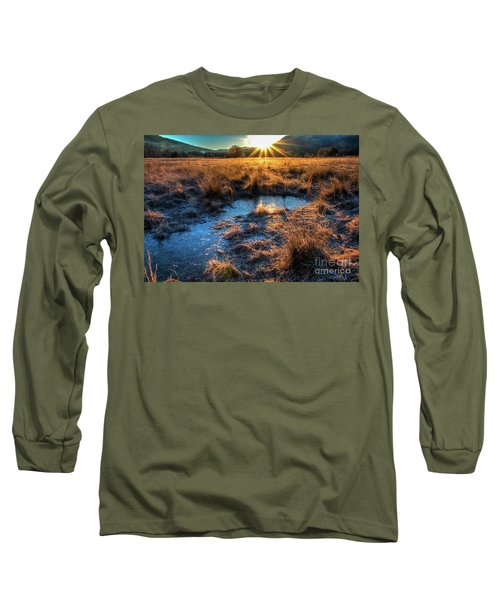 Cades Cove, Spring 2017,ii Long Sleeve T-Shirt by Douglas Stucky