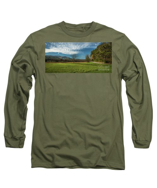 Cades Cove Tennessee Long Sleeve T-Shirt