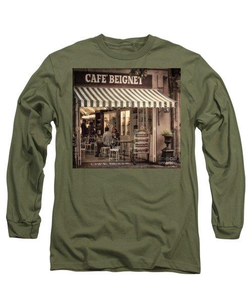 Cafe Beignet 2 Long Sleeve T-Shirt