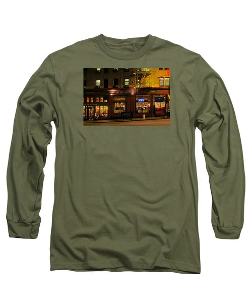 Cafe De La Presse On Bush St Long Sleeve T-Shirt