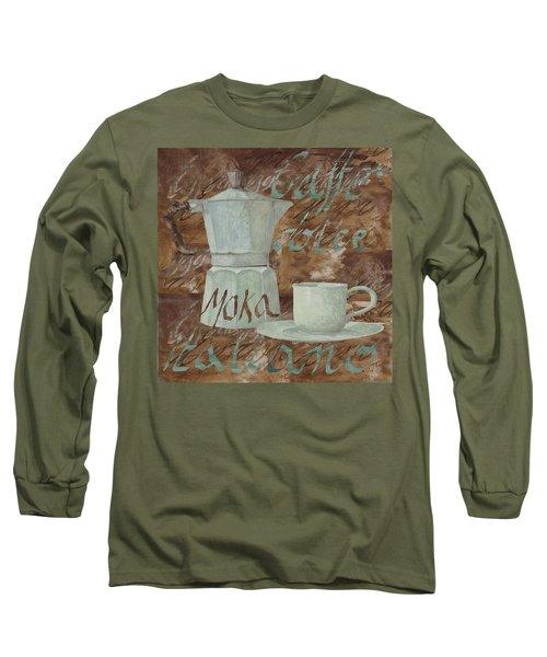 Caffe Espresso Long Sleeve T-Shirt