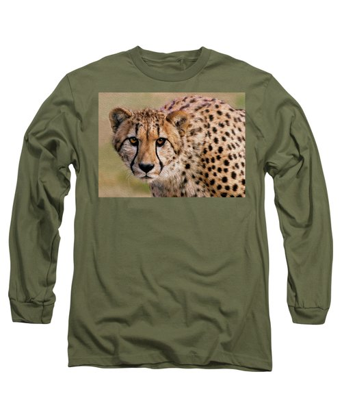 Calculated Look Long Sleeve T-Shirt