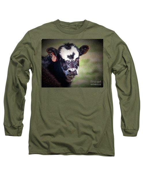 Calf Number 444 Long Sleeve T-Shirt