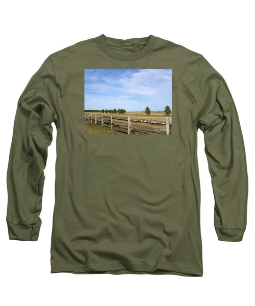 Calf Pasturepoint Long Sleeve T-Shirt