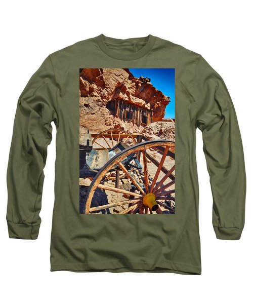 Calico Ghost Town Mine Long Sleeve T-Shirt