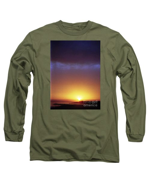 California Ocean Sunset Long Sleeve T-Shirt