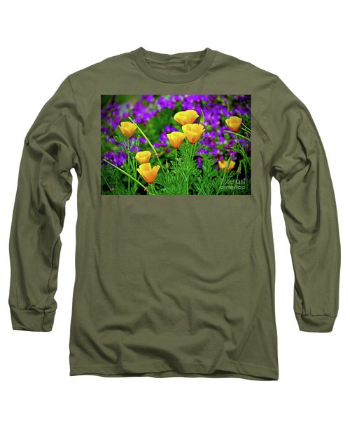 California Poppies Long Sleeve T-Shirt