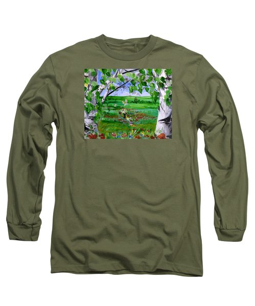Call Of The Homeland Long Sleeve T-Shirt