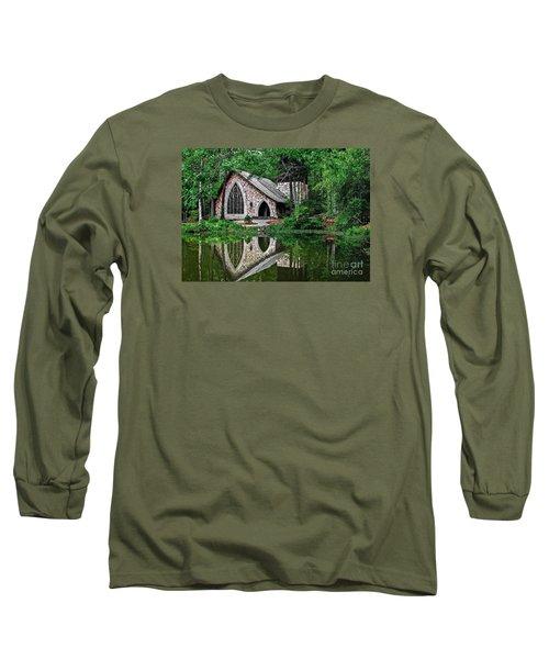 Callaway Gardens Ida Cason Chapel Long Sleeve T-Shirt by John Roberts