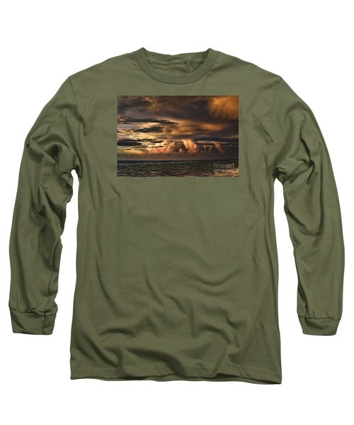 Long Sleeve T-Shirt featuring the photograph Calm Before The Storm by Judy Wolinsky