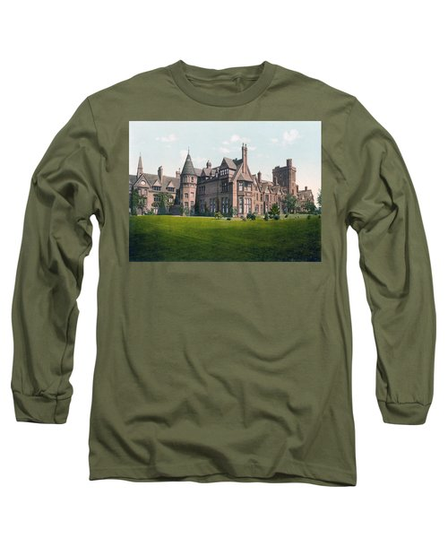 Cambridge - England - Girton College Long Sleeve T-Shirt
