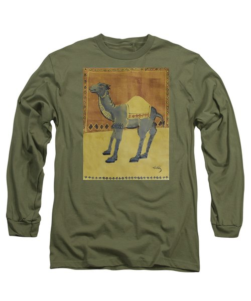 Camel With Diamonds Long Sleeve T-Shirt