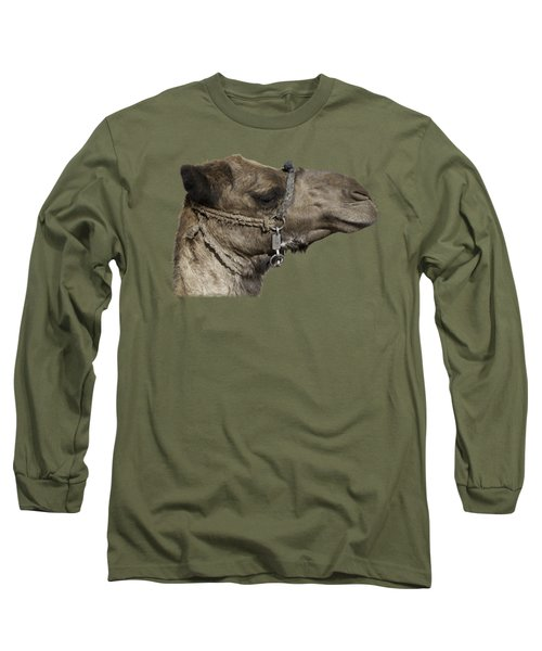 Camel's Head Long Sleeve T-Shirt by Roy Pedersen