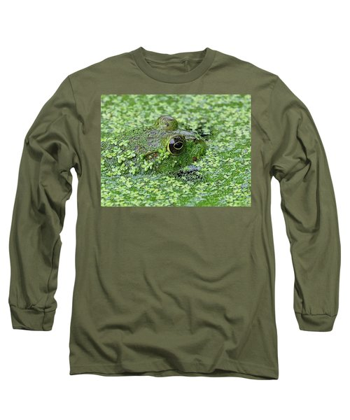 Camo Frog Long Sleeve T-Shirt