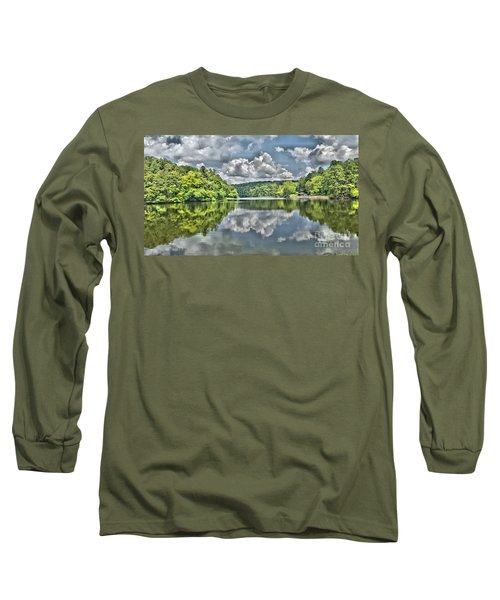 Camp Mountain Lake Long Sleeve T-Shirt
