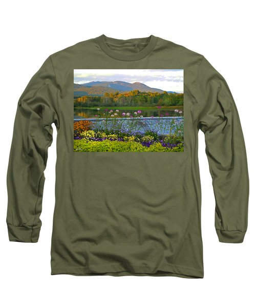 Campton Pond Campton New Hampshire Long Sleeve T-Shirt by Nancy Griswold
