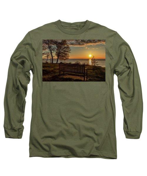 Campus Sunset Long Sleeve T-Shirt