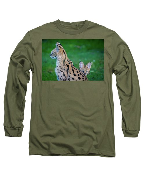 Can You See Me? Long Sleeve T-Shirt by Rainer Kersten