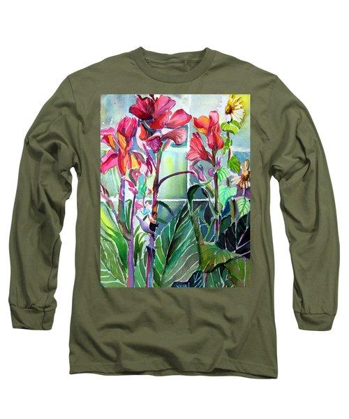 Cana Lily And Daisy Long Sleeve T-Shirt