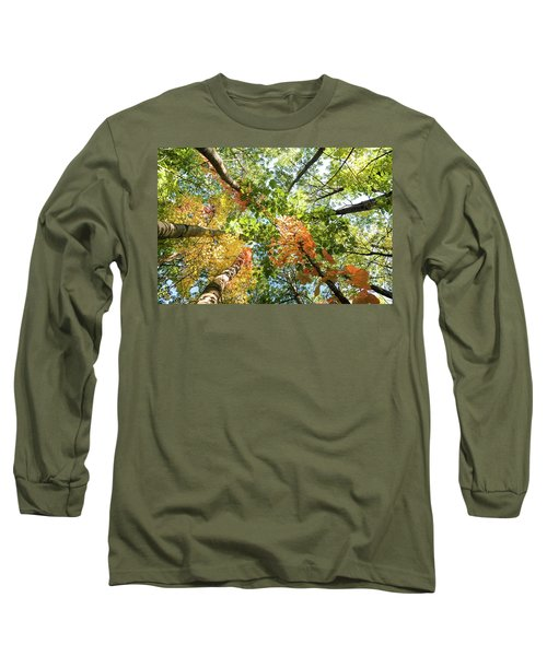 Canadian Foliage Long Sleeve T-Shirt